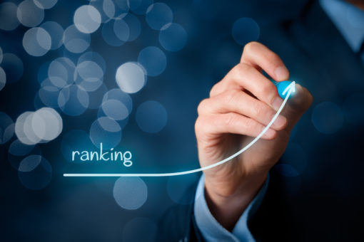website ranking decreased
